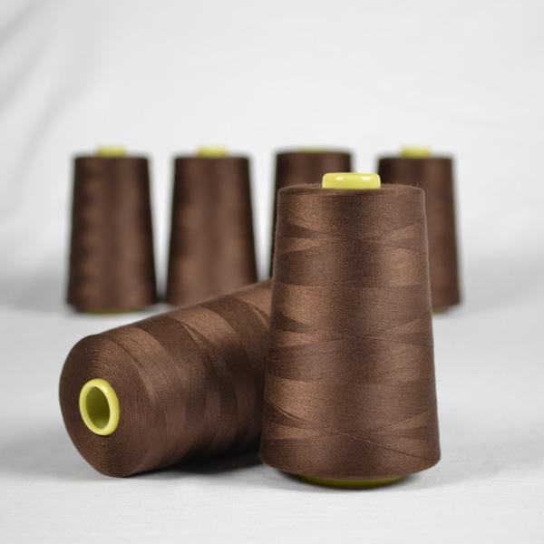 overlock/coverlock-polyester-nähgarn-ntf-5000-braun